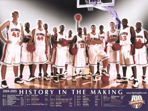 Fighting Illini Basketball: Illini Basketball 2005: The ...