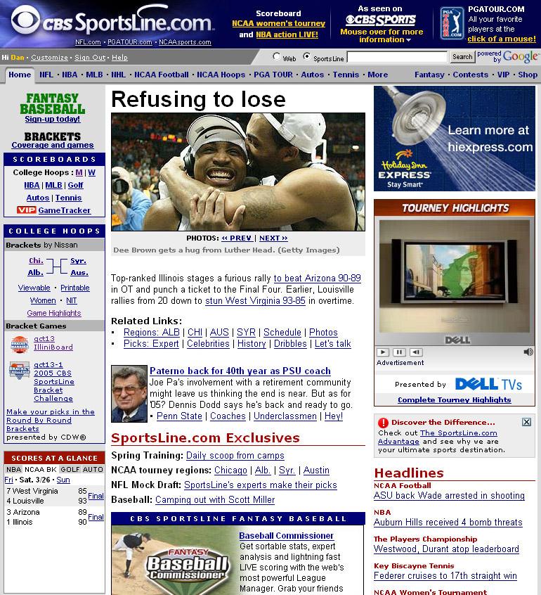 Cbs Sportsline