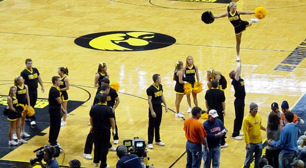Iowa Cheerleaders