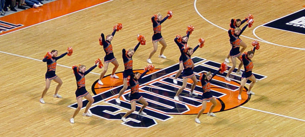 Illini Cheerleaders