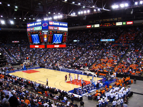 Illini Basketball Xed Out IllinoisLoyaltycom - Map us bank arena