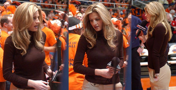 Erin Andrews it is