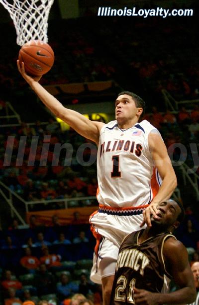 Illini Basketball vs Quincy