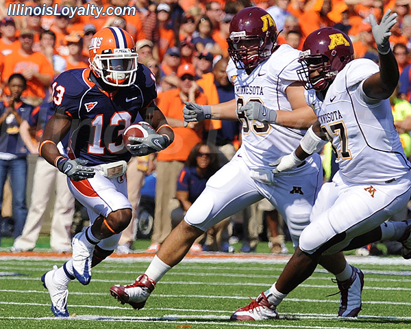 Football - Illinois Illini vs Minnesota Gophers
