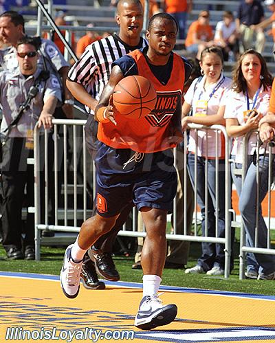 Illinois - The World's Biggest Basketball Practice