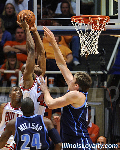Chicago Bulls Derrick Rose vs Utah Jazz Deron Williams