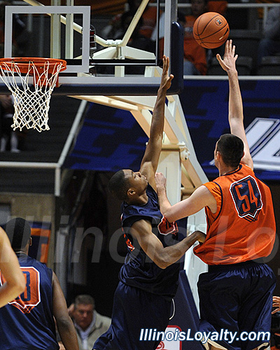 Illinois Basketball Orange and Blue Scrimmage