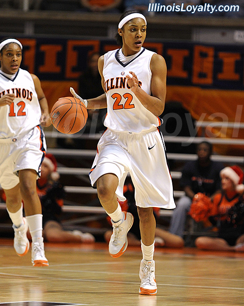 Lacey Simpson - Illini Women's Basketball