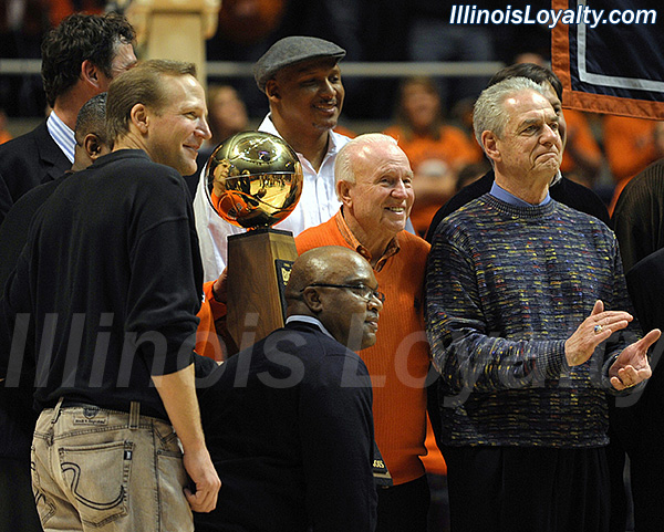 Photos from the 1984 and 1949 Illini basketball reunions