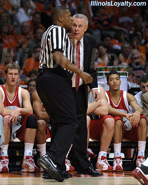 Illini Basketball: Bo Ryan Chats With Ted Valentine