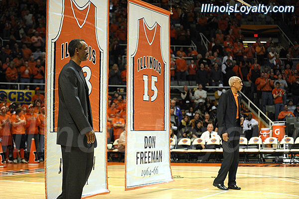 Fighting Illini Basketball: Eddie Johnson and Don Freeman