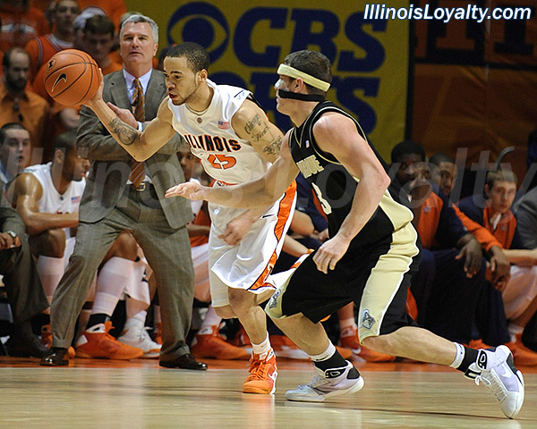 Fighting Illini Basketball: Calvin Brock