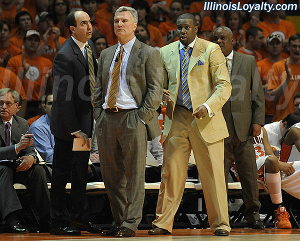 Fighting Illini Basketball: Jay Price, Bruce Weber, Jerrance Howard, and Wayne McClain