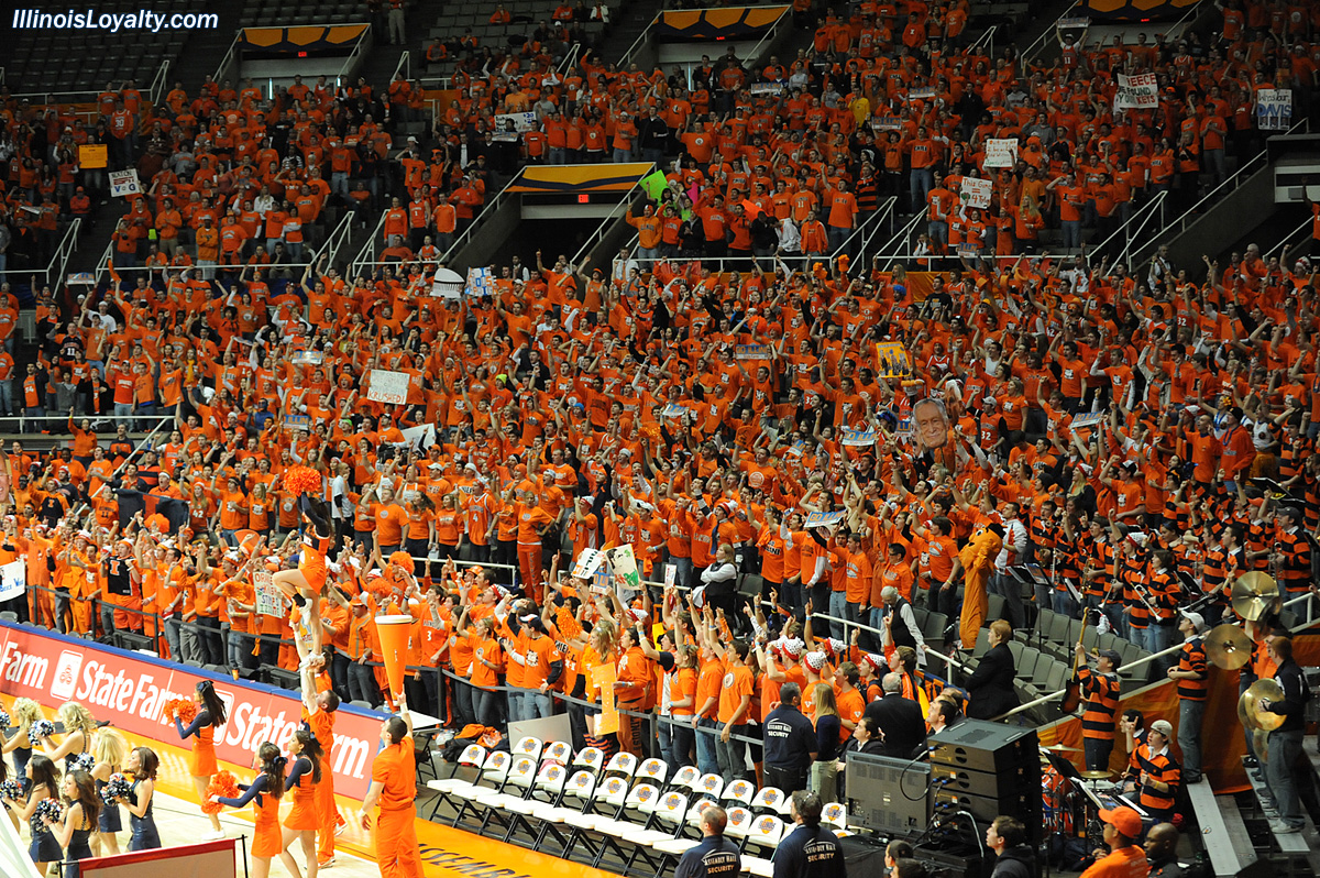 Fighting Illini Basketball: Photo Gallery: ESPN College GameDay at ...