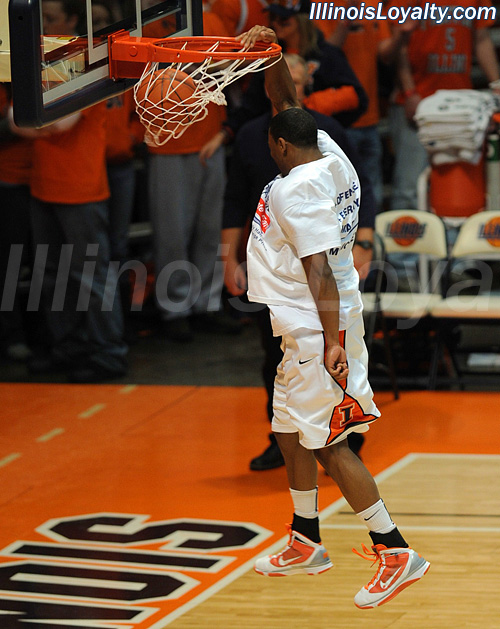 Fighting Illini Basketball Photo Gallery Pregame Dunk