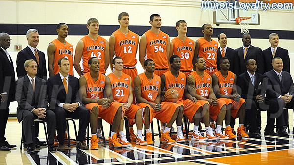 Illini Basketball: Photo Gallery: 2010 Illinois Basketball ...