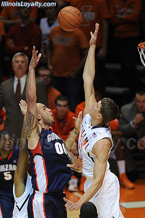 Robert Sacre, Meyers Leonard - Illinois Fighting Illini basketball