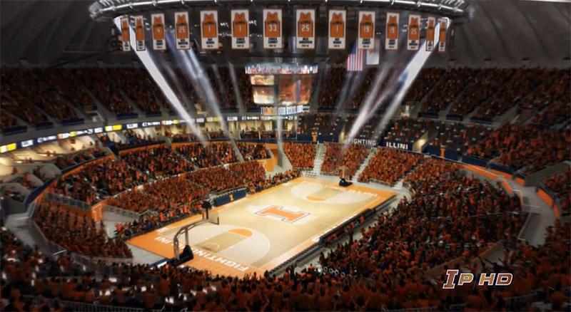 Fighting Illini Basketball: Pregame: The Assembly Hall Renovation