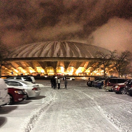 Assembly Hall Snow