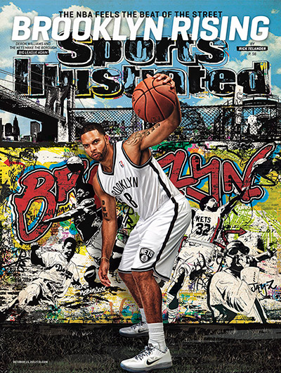 Deron Williams on cover of Sports Illustrated