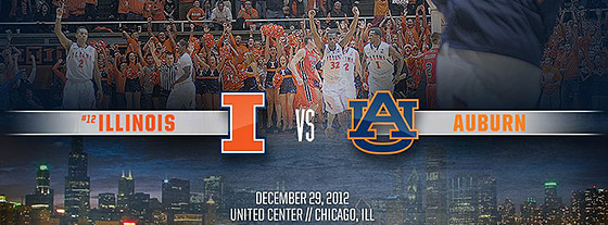 Illini vs Auburn at the United Center