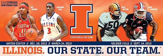 Illini billboard