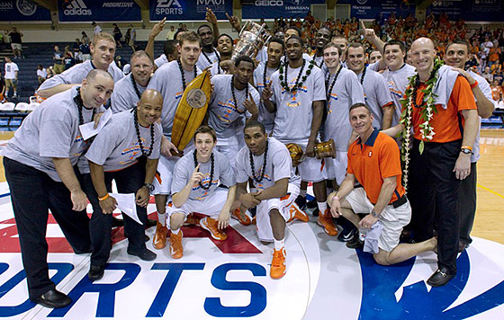 Illinois: 2012 Maui Invitational Tournament Champions