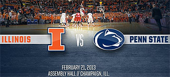 Illini vs Penn State