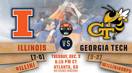 Illinois vs Georgia Tech hoops