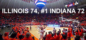 Illinois 74, #1 Indiana 72