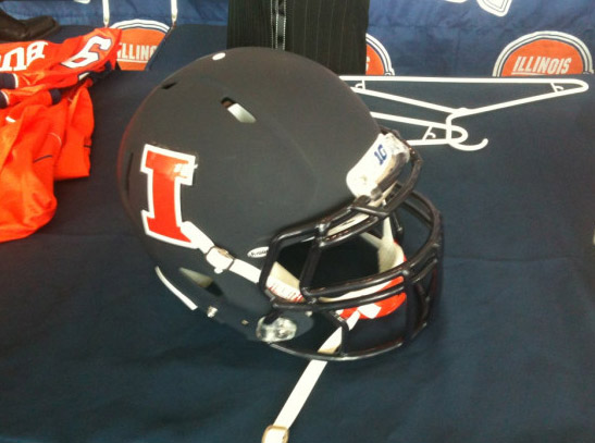 New Illini football helmet