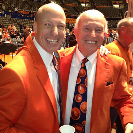 John Groce and Lou Henson
