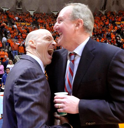 John Groce and Thad Matta