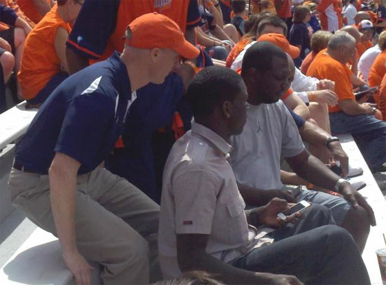 Kendrick Nunn and John Groce