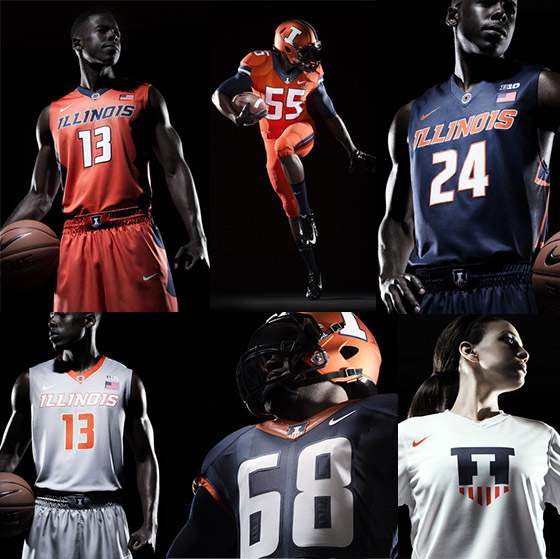 New Illini uniforms Nike