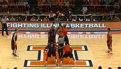 Illini Orange & Blue Scrimmage