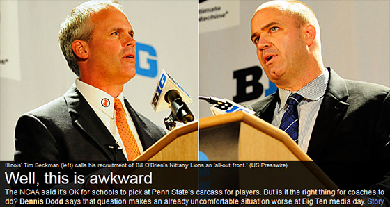 Tim Beckman vs Bill O'Brien